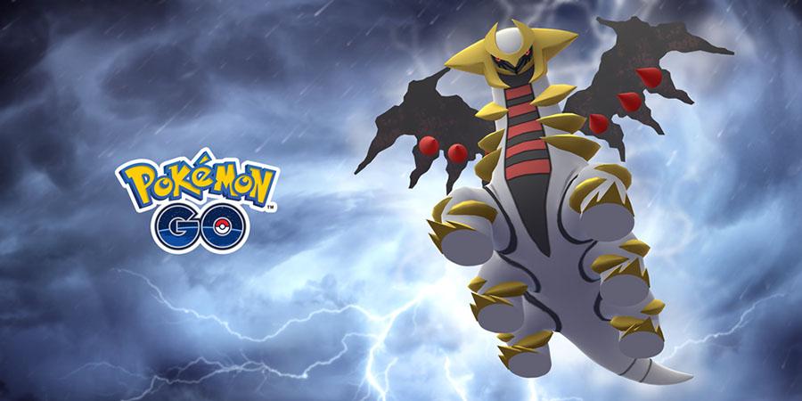 Pokémon GO : Giratina de retour dans les Combats de Raid !