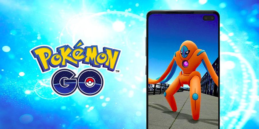 Pokémon GO - Deoxys forme Attaque des les Raids EX