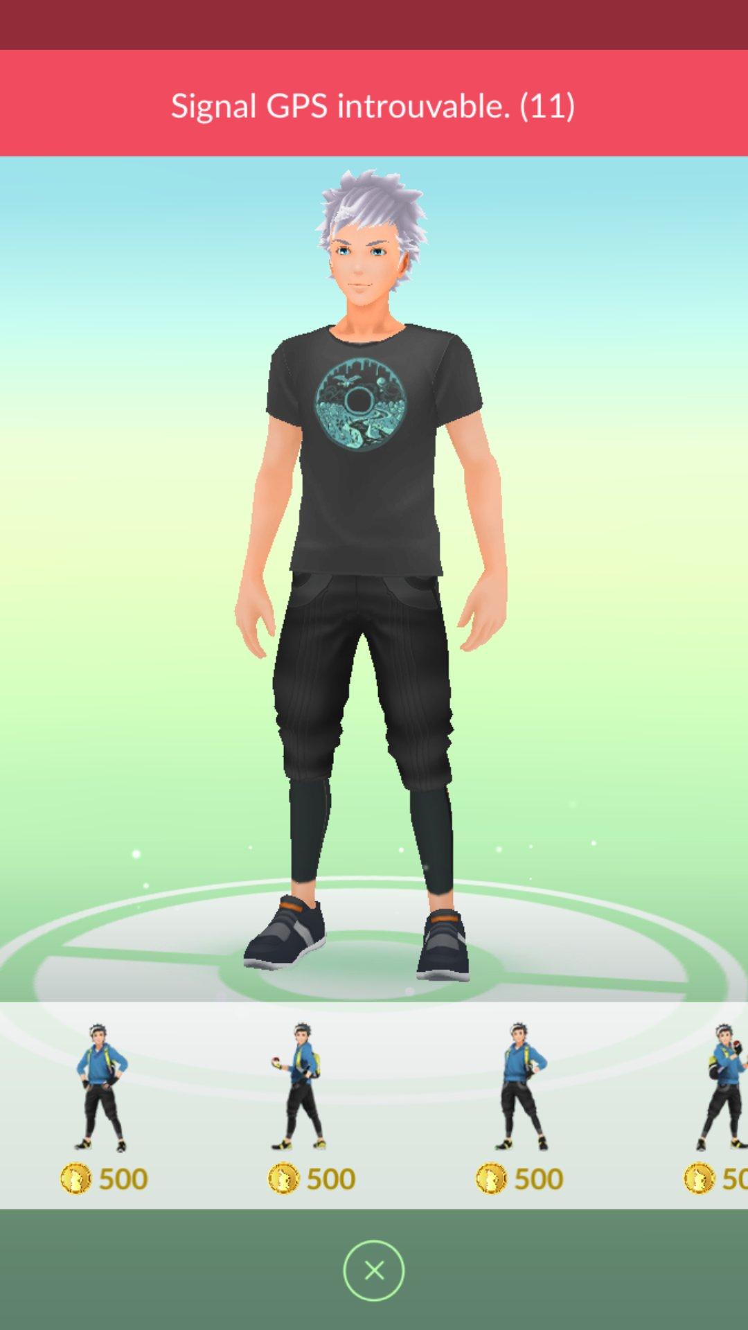 Pokémon GO : Les Poses d'avatar