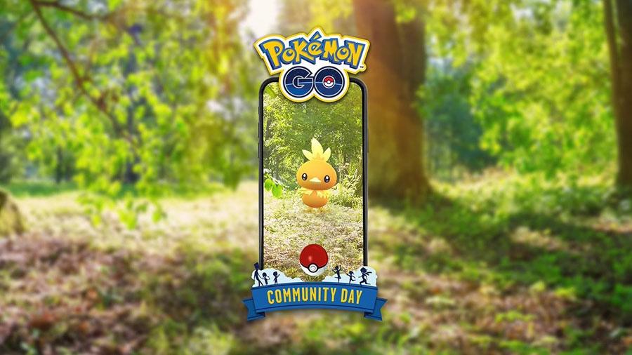 Pokémon GO : Poussifeu en vedette du Pokémon GO Community Day du mois de Mai