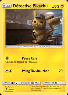 Carte Pokémon Détective Pikachu