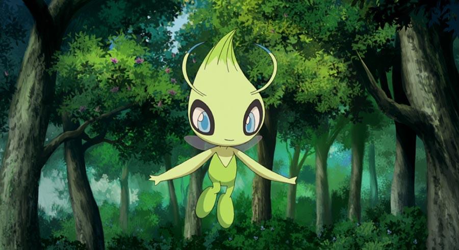Celebi de retour dans l'animé Pokémon Soleil & Lune au mois de Juin