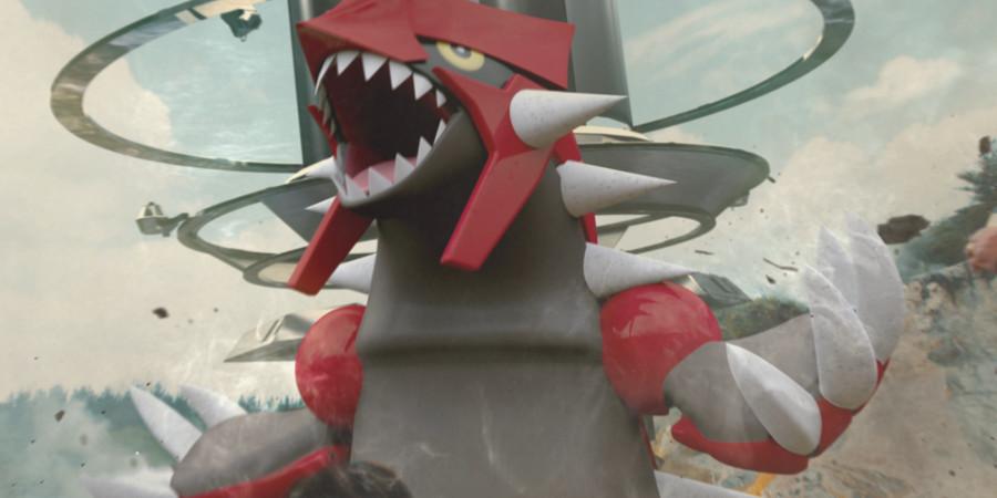 Pokémon GO - Groudon dans les Combats de Raids