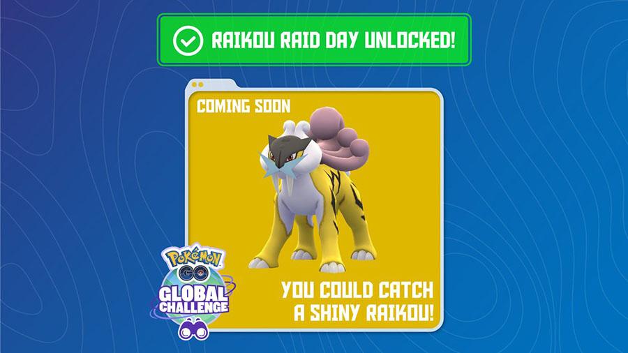 Pokémon GO : journée spéciale Raikou le 29 Juin