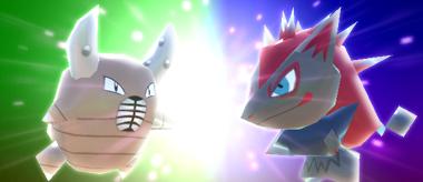 Pokémon Rumble Rush - Scarabrute et Zoroark