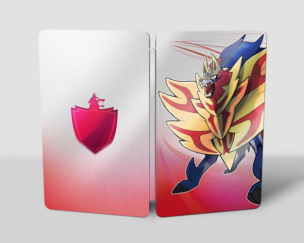 Steelbook Pokémon Épée et Bouclier
