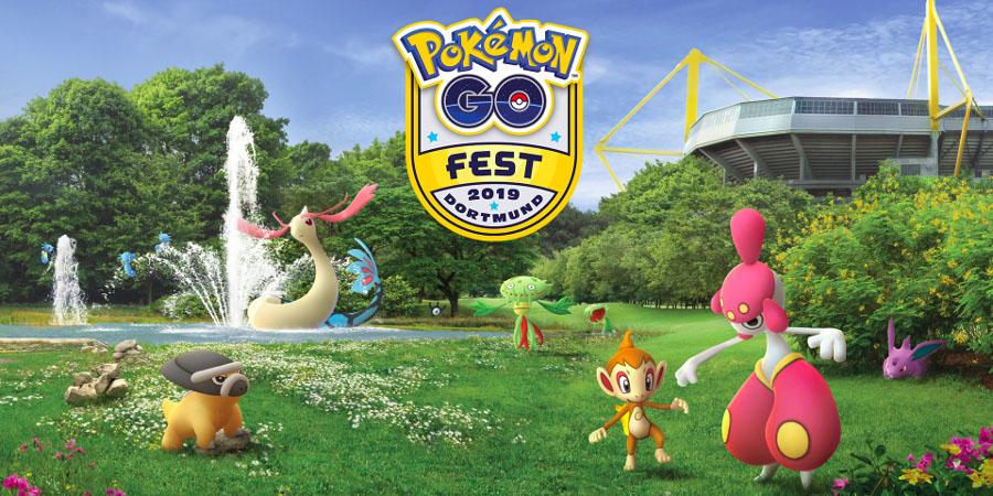 Pokémon GO Fest de Dortmund 2019