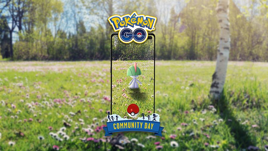 Pokémon GO :  Tarsal en vedette du Pokémon GO Community Day du mois d'Août