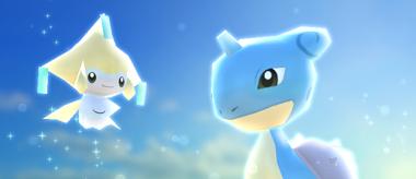 Pokémon Rumble Rush - Jirachi et Lokhlass