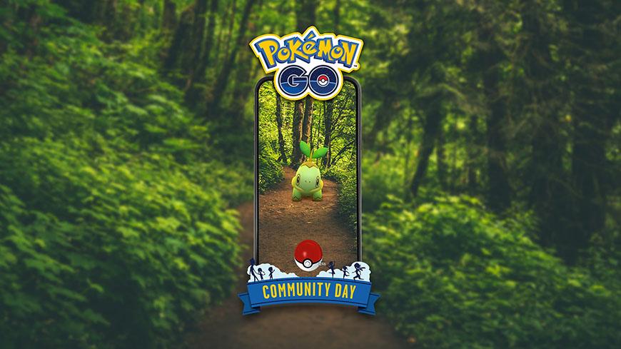 Pokémon GO : Tortipouss en vedette du Pokémon GO Community Day du mois de Septembre
