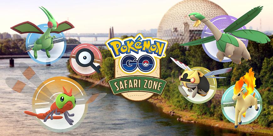 Pokémon GO : nouveau Safari Zone à Montréal
