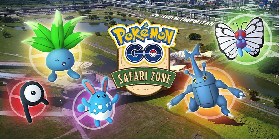 Pokémon GO : nouveau Safari Zone à Taipei