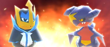 Pokémon Rumble Rush - Pingoléon et Carchacrok