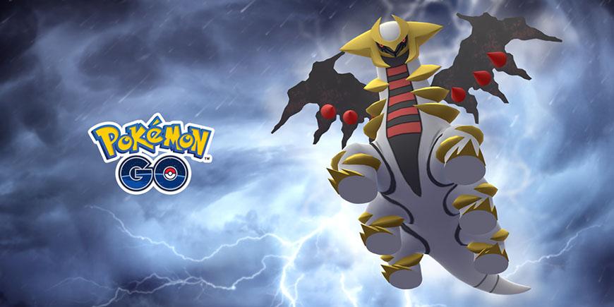 Pokémon GO : Giratina shiny de retour dans les Combats de Raid !