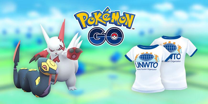 Pokémon GO : événement journée mondiale du tourisme
