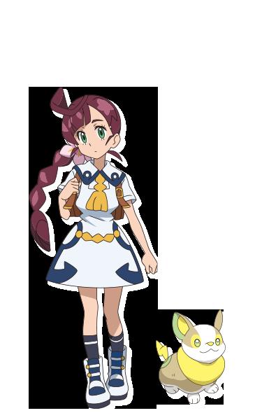 Koharu Animé Pokémon Épée et Bouclier