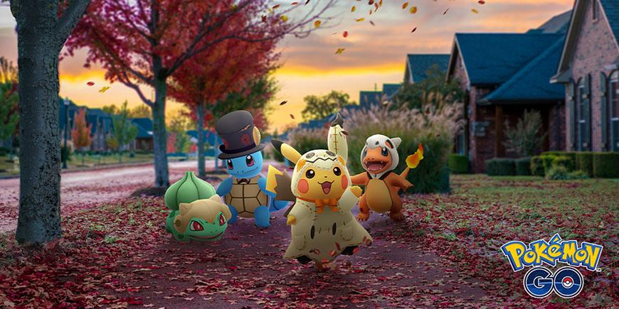 Pokémon GO : l'événement Halloween 2019 annoncé