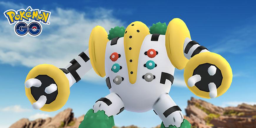 Pokémon GO - Une découverte colossale - Regigigas