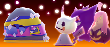 Pokémon Rumble Rush - Mimiqui et Grotadmorv d'Alola