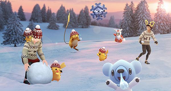 Pokémon GO : Événement Fêtes d'hiver 2019