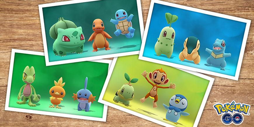Pokémon GO : Des Défis Souvenir avec plein de récompenses !