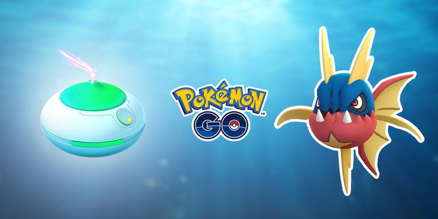 Pokémon GO : Journée Encens : type Eau et type Ténèbres avec Carvanha
