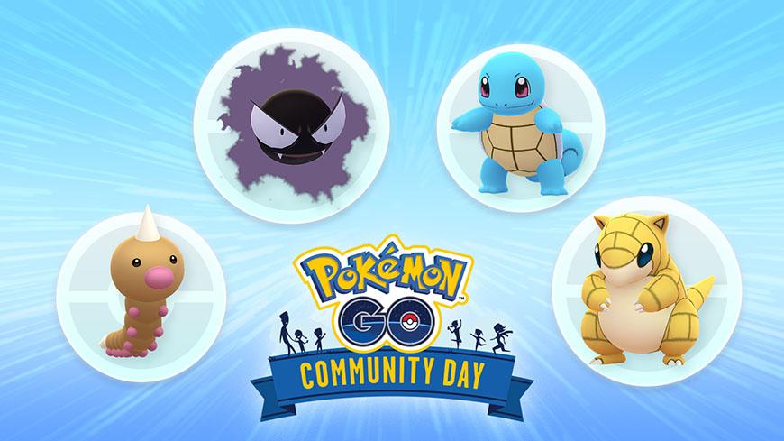 Pokémon GO - Community Day de juin et juillet 2020