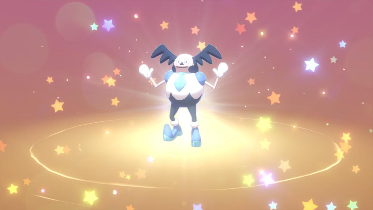 Distribution de M. Mime de Galar avec talent caché sur Pokémon Épée et Bouclier