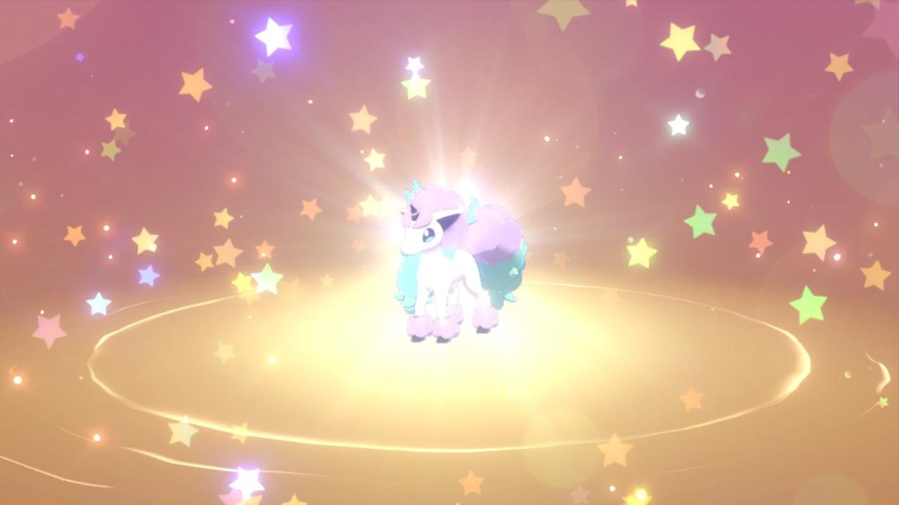 Distribution de Ponyta de Galar avec talent caché sur Pokémon Épée et Bouclier