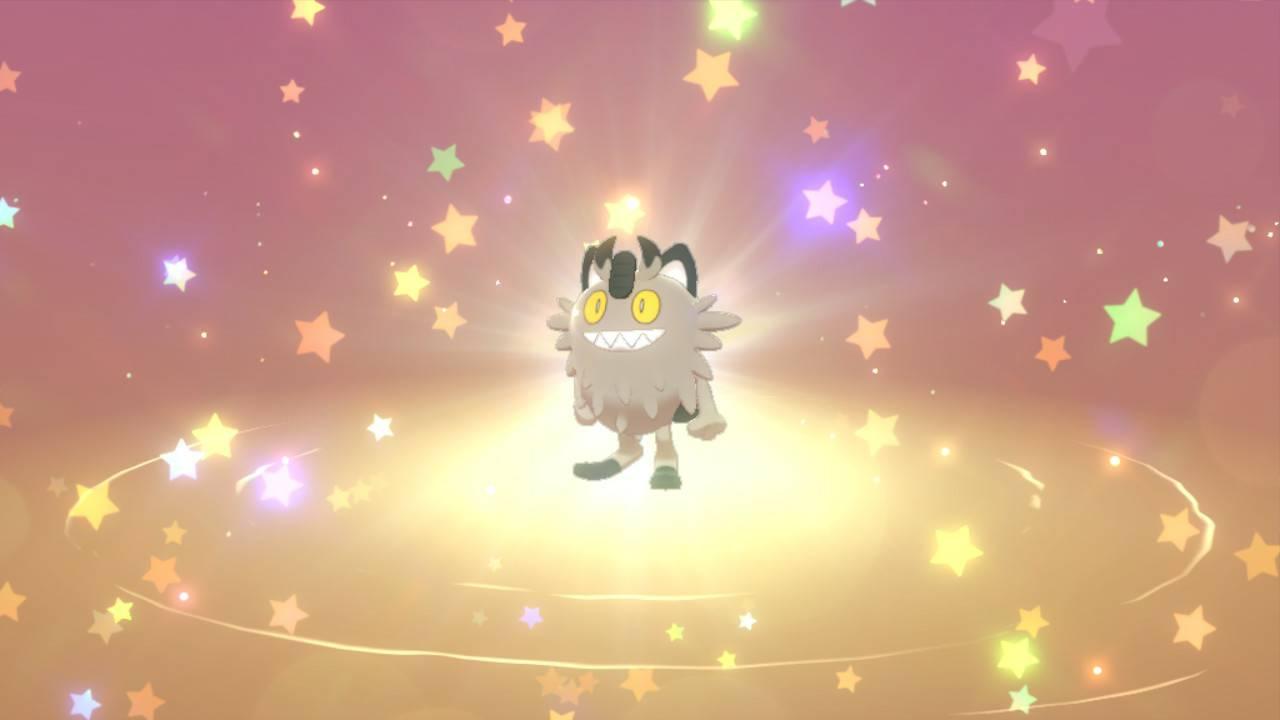 Distribution de Miaouss de Galar avec talent caché sur Pokémon Épée et Bouclier