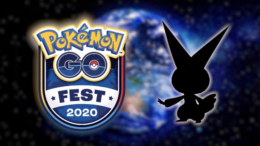 Victini présent lors du Pokémon GO Fest 2020
