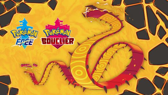 Distribution de code Scolocendre Gigamax sur Pokémon Épée et Bouclier