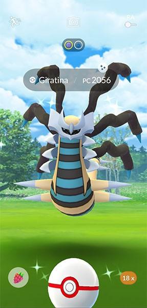 Un Pokémon chromatique dans Pokémon GO