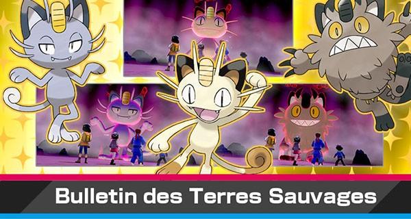Pokémon Épée et Bouclier : Nouvel événement Dynamax avec Miaouss de Galar chromatique