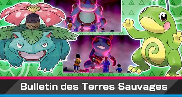 Pokémon Épée et Bouclier : nouvel événement Dynamax avec Tarpaud shiny