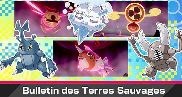 Pokémon Épée et Bouclier : nouvel événement Dynamax avec Sorbouboul shiny