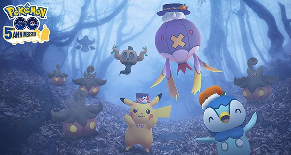 Pokémon GO : l'événement d'Halloween 2021 détaillé